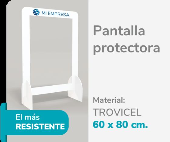 Foto de Pantalla Protectora Trovicel 6mm 60x80   Impresión de logo