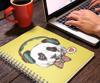 Picture of Libreta | Panda hipster