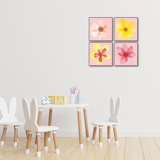 Picture of Set de Cuadros magic frame | Flores