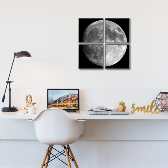 Foto de Set de Cuadros magic frame | Luna