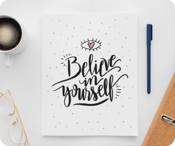 Foto de Libreta | Believe in you - copia