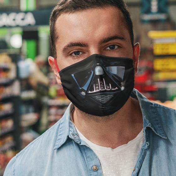 Foto de Cubrebocas Adulto Lavable | Darth Vader