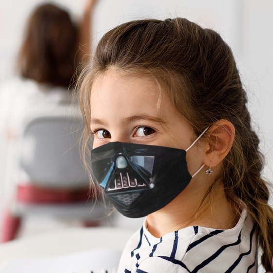 Picture of Cubrebocas Kids Lavable | Darth Vader