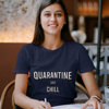 Picture of Playera mujer | Quarantine and Chill