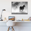 Picture of Cuadro magic frame  | Caballos BN