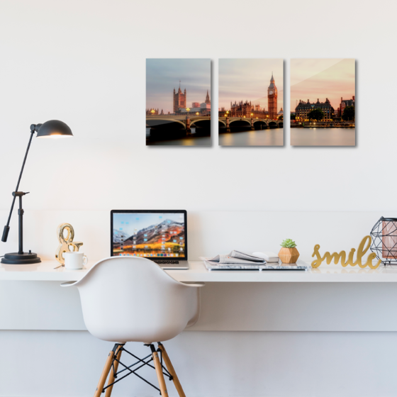 Picture of Set de cuadros acrílico | Londres