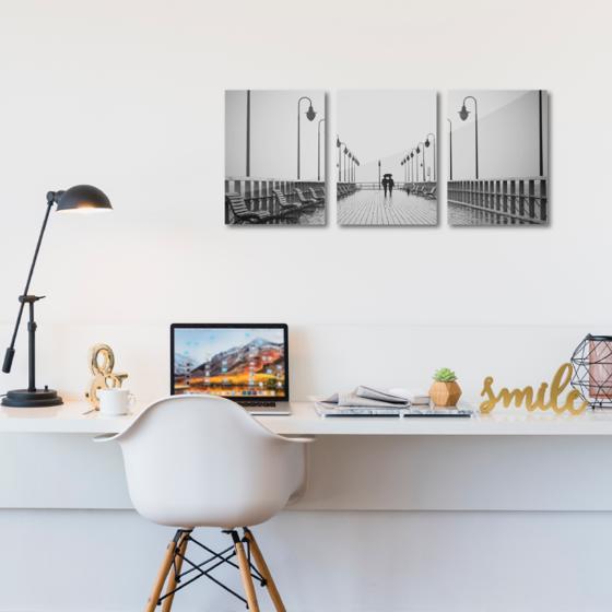 Foto de Set de cuadros acrílico | Puente BN