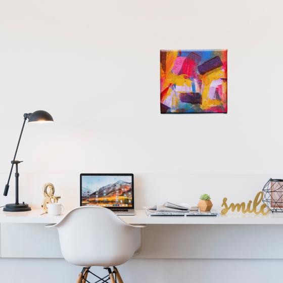 Picture of Cuadro canvas  | Arte colores