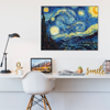 Picture of Cuadro magic frame  | Starry night VanGogh