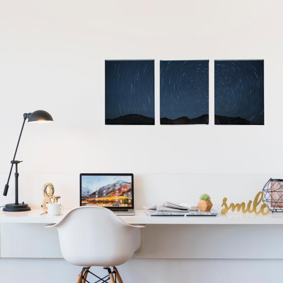 Foto de Set de Cuadros canvas | Starry Night Espiral