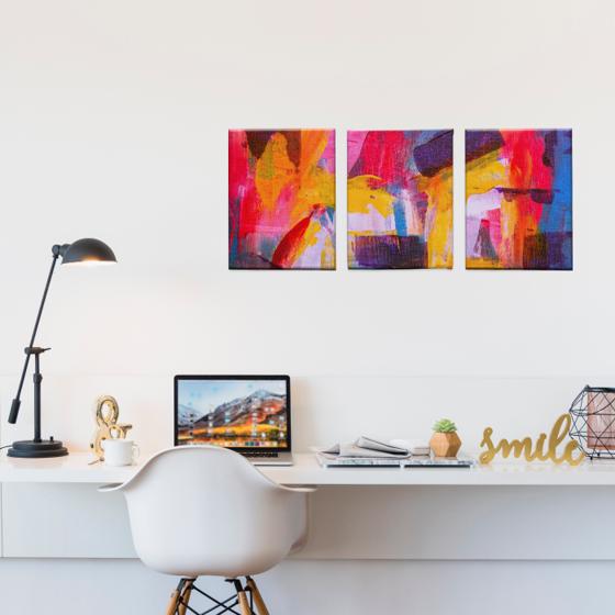 Picture of Set de Cuadros canvas | Arte colores