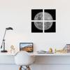 Picture of Set de Cuadros canvas | Luna