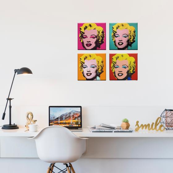 Picture of Set de Cuadros canvas | Marilyn