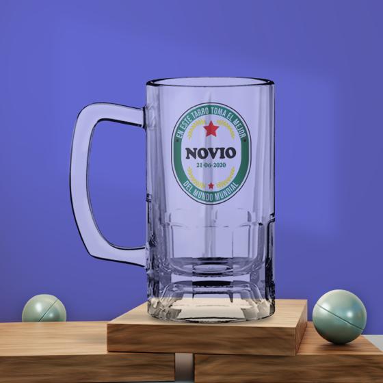 Picture of Tarro de Cerveza | Mejor Novio Heineken