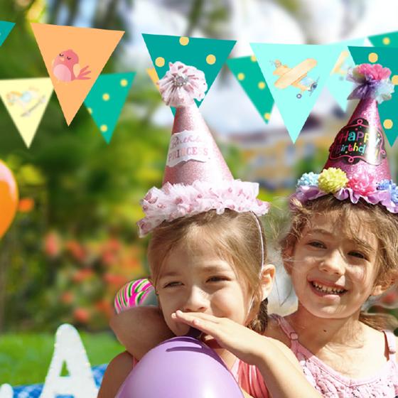 Picture of Kit Banderines para fiesta | Fiesta infantil