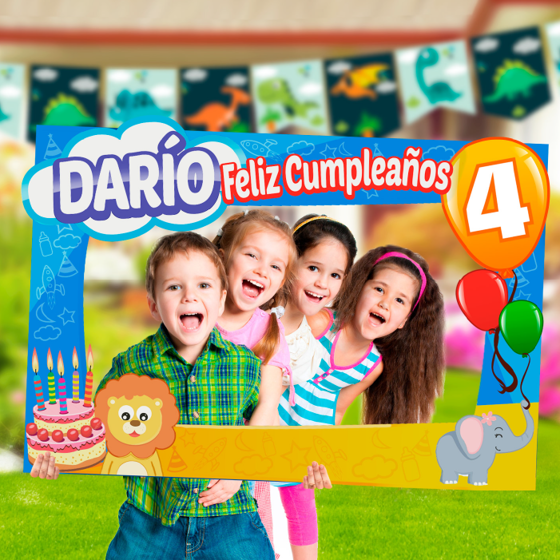 Picture of Marco gigante para fotos selfies | Infantil personalizable