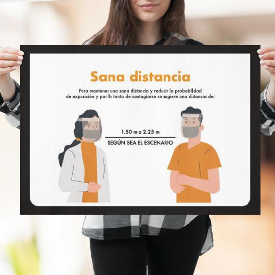 Picture of Póster de recomendaciones | Sana distancia