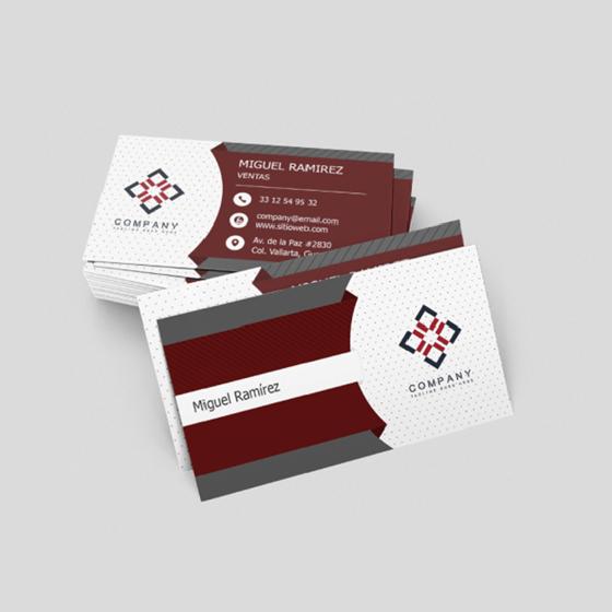 Picture of Tarjetas de presentación | Personalizable Diseño clásico y formal