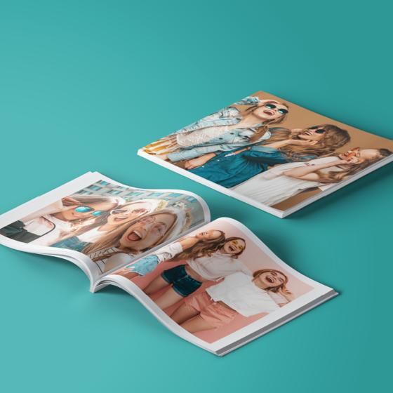 Picture of Photobook pasta blanda 15.5 x 15.5 | Sube tus fotos