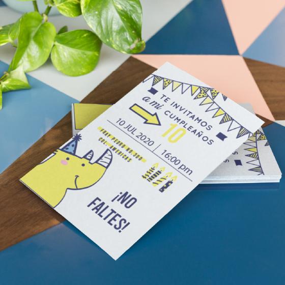 Picture of Invitación personalizada | Rino