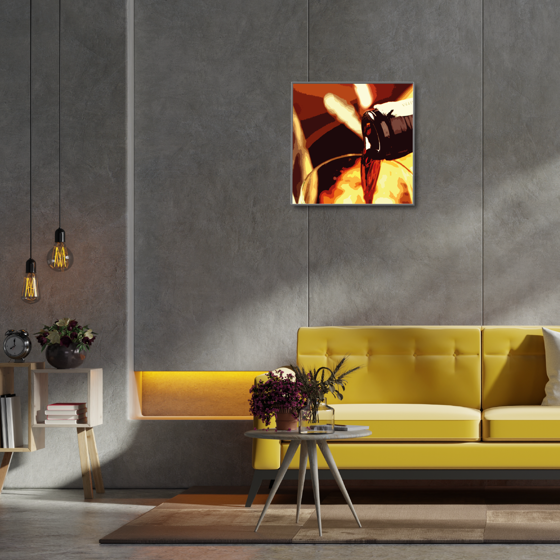 Picture of Cuadro magic frame  | Pour That Wine