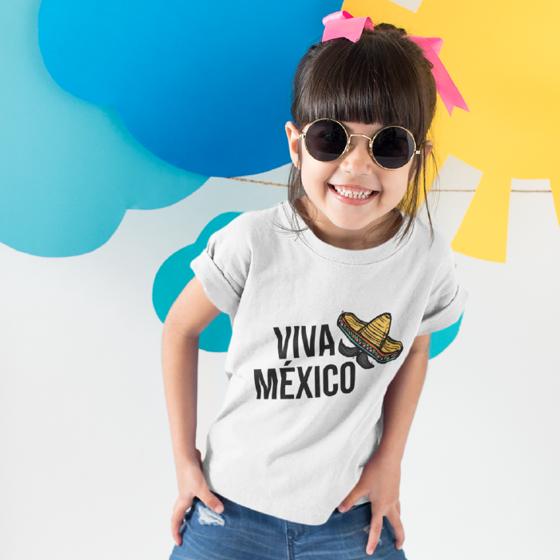 Picture of Playera niña   Viva México