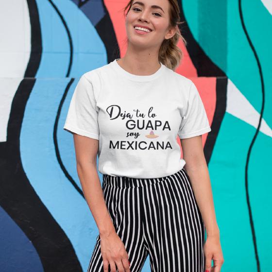 Picture of Playera mujer   Guapa y mexicana