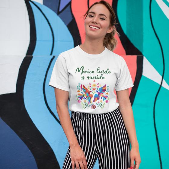 Picture of Playera mujer   México lindo y querido