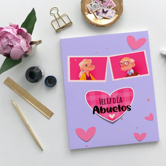 Picture of Tarjeta de felicitación   Feliz día Abuelos